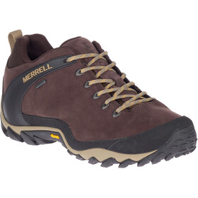 Merrell Cham 8 Leather Low GTX Sko Herrer, espresso
